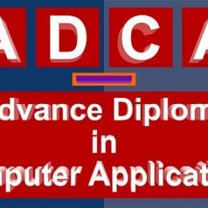 ADCA Course
