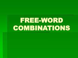 word combination